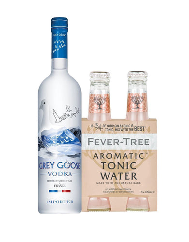 Grey Goose® Vodka with Fever-Tree Aromatic Tonic Water