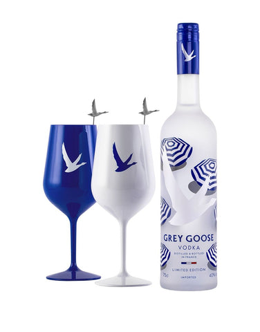 GREY GOOSE® Summer Limited Edition Bottle with Acrylic Glassware