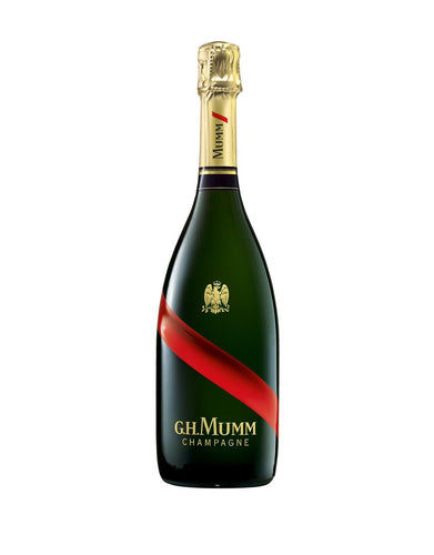 G.H.Mumm Grand Cordon Champagne bottle