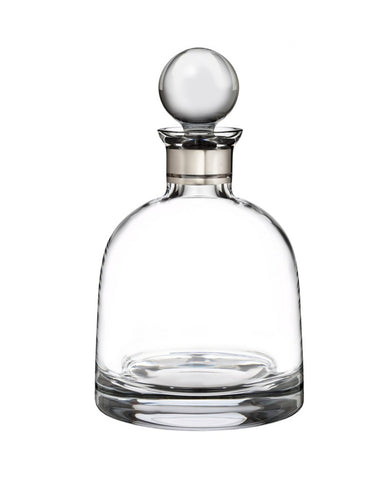 Waterford Elegance Short Decanter 37.2 Oz with Round Stopper