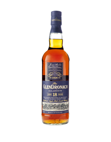 The Glendronach 18-Year-Old Allardice