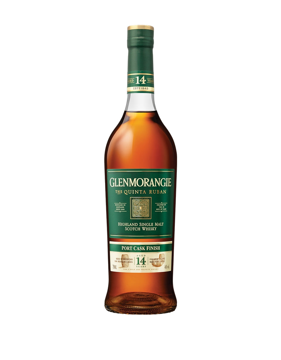 Load image into Gallery viewer, Glenmorangie Quinta Ruban 14 Year Old Single Malt Scotch Whisky bottle