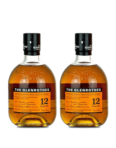 The Glenrothes 12 Year Old (2 Bottles)