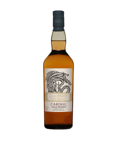Game Of Thrones House Targaryen Cardhu Gold Reserve
