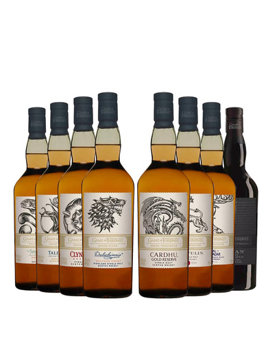 Game of Thrones Single Malt Collection (8 Bottles)