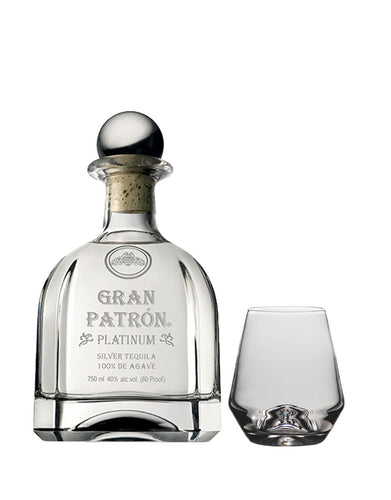 Gran Patrón with Simon Pearce Bristol Tumbler