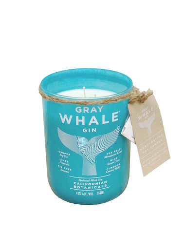 Gray Whale Gin & Soy Candle Gift Set