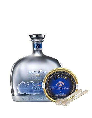 Grey Goose® VX with Black River Oscietra Imperial Caviar