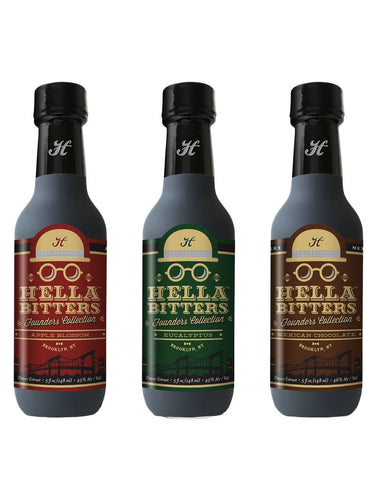 Hella Cocktail Founders Collection Bitters Set