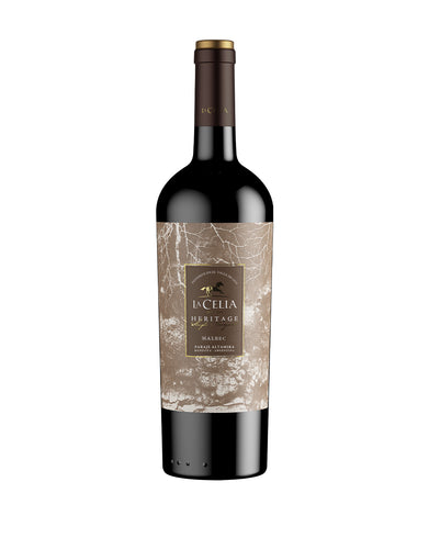La Celia Heritage Malbec Wine bottle