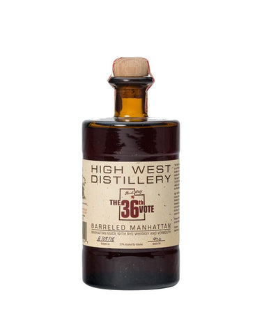 High West The 36th Vote Barreled Manhattan