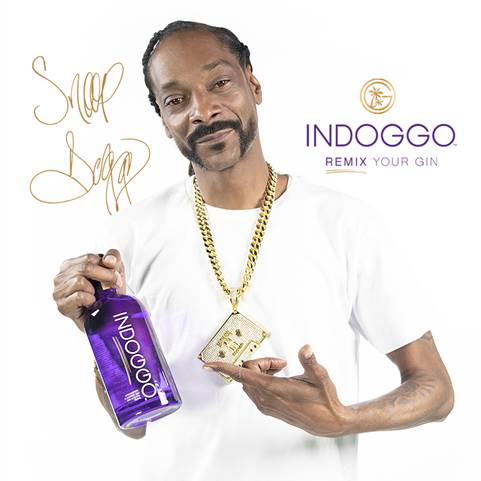Load image into Gallery viewer, Snoop Dogg holding INDOGGO Gin