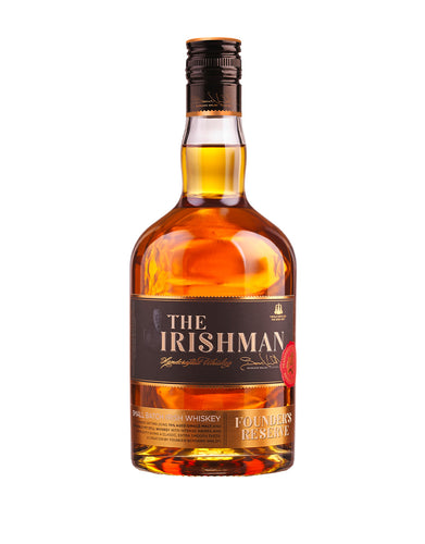 The Irishman Founder's Reserve Small Batch Irish Whiskey bottle
