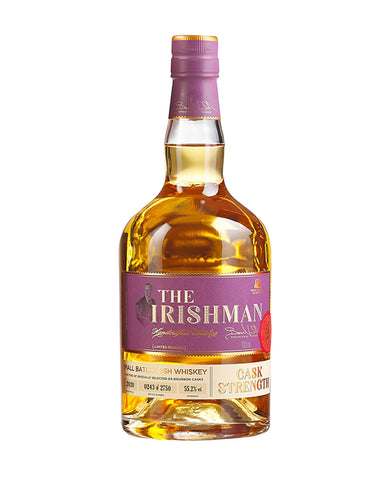 Irishman Vintage Cask Strength 2020 Small Batch Irish Whiskey bottle
