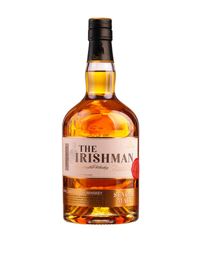 The Irishman Single Malt Small Batch Irish Whiskey bottle