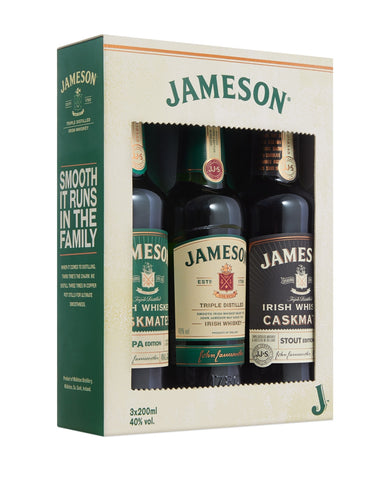 Jameson Irish Whiskey Trilogy
