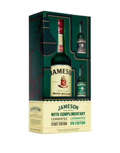 Jameson Original Gift Set with 2 Mini Bottles