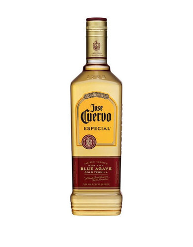 Jose Cuervo Especial® Gold bottle