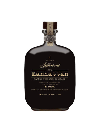 Jefferson's Barrel Aged Manhattan Cocktail
