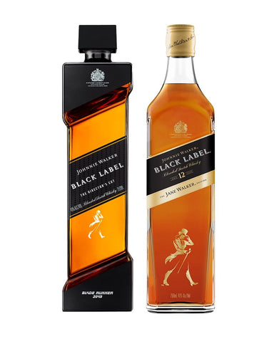 Johnnie Walker Black Label® - The Director's Cut and The Jane Walker Edition Bundle