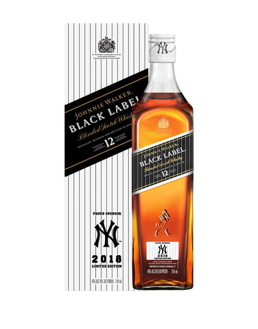 d94751e81554 Johnnie Walker Black Label - Yankees 2018 Limited Edition Design ...