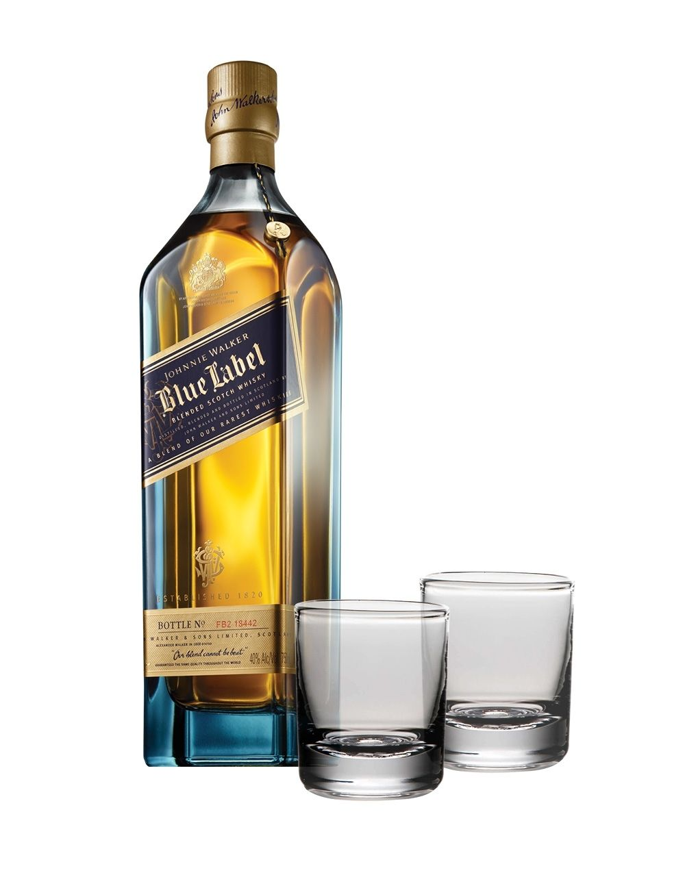 1ec6f4abb101 Johnnie Walker Blue Label® with Simon Pearce Ascutney Double Old-Fashi