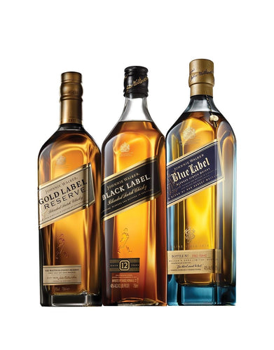 Johnnie Walker Aficionado Club (3 Bottle Subscription)