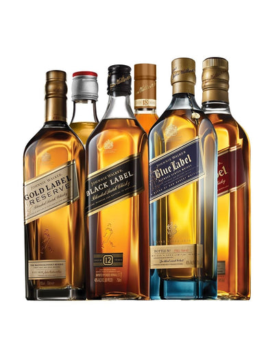 Johnnie Walker Aficionado Club (6 Bottle Subscription)
