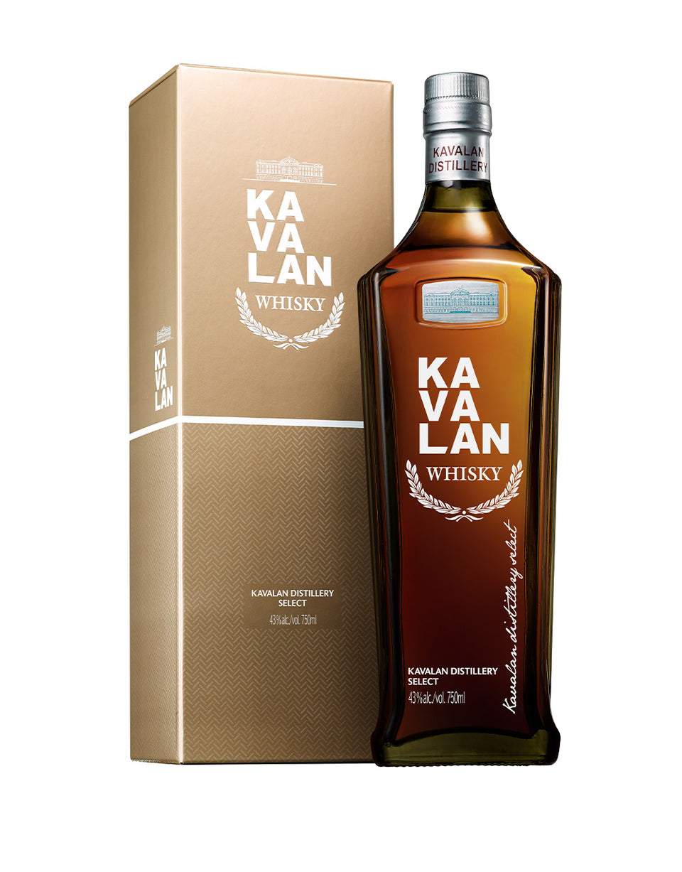 Load image into Gallery viewer, Kavalan Distillery Select Single Malt Whisky bottle and box