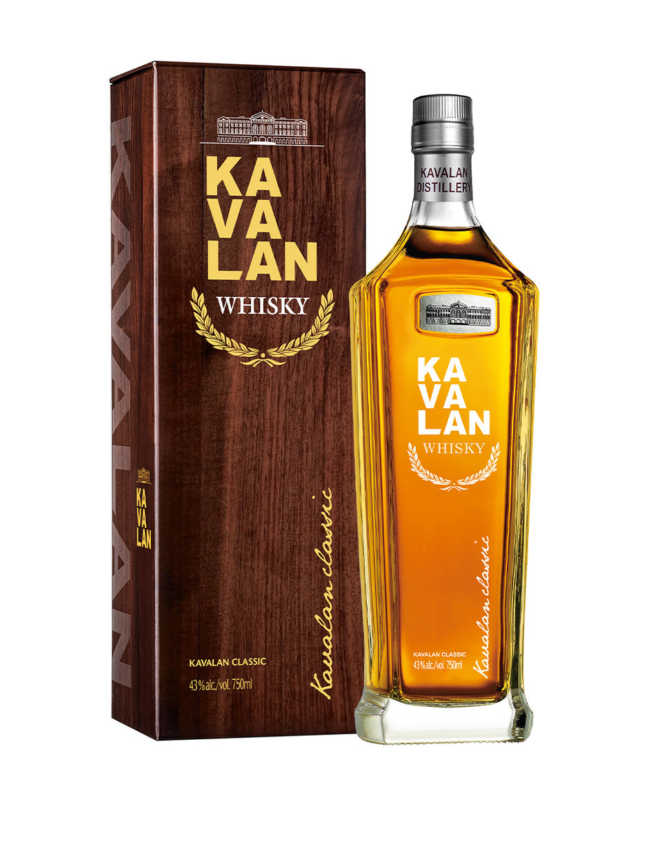 Load image into Gallery viewer, Kavalan Classic Single Malt Whisky bottle and box