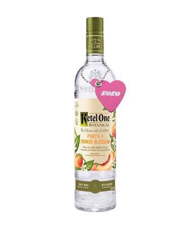 "Ketel One® Botanical Peach & Orange Blossom with Billykirk ""XOXO"" Bottle Neck Tag"