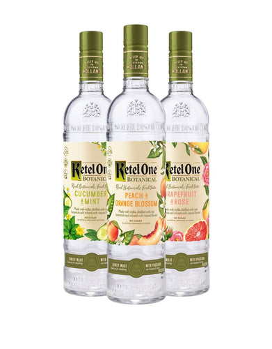 Ketel One Botanical Collection (3 Bottles)