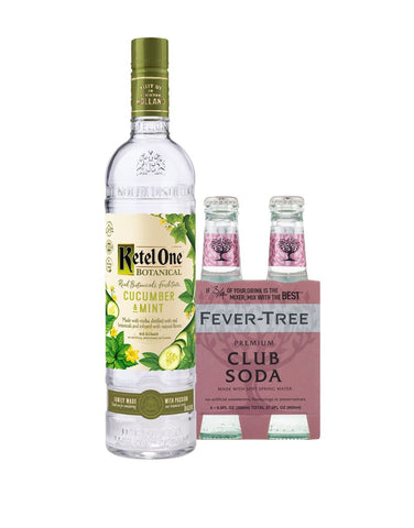 Ketel One® Botanical Cucumber & Mint with Fever-Tree Club Soda