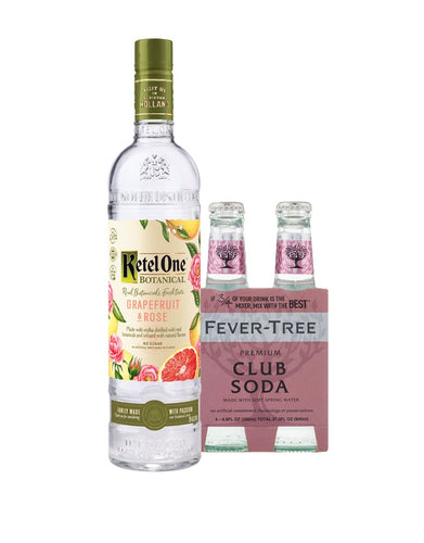Ketel One® Botanical Grapefruit & Rose with Fever-Tree Club Soda
