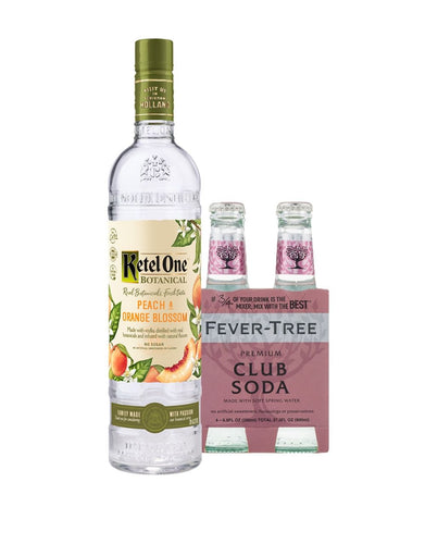 Ketel One® Botanical Peach & Orange Blossom with Fever-Tree Club Soda
