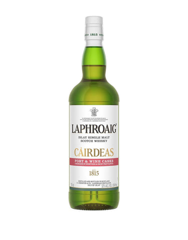 Laphroaig® Cairdeas Port & Wine Casks Scotch Whisky bottle