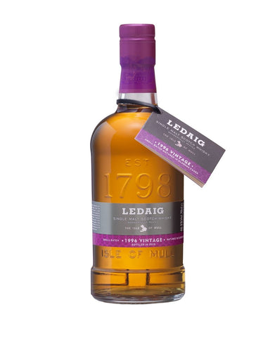 Ledaig 1996 Vintage - 19 Year Old