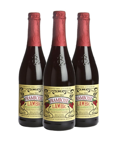 Lindemans Framboise (Set of 3)