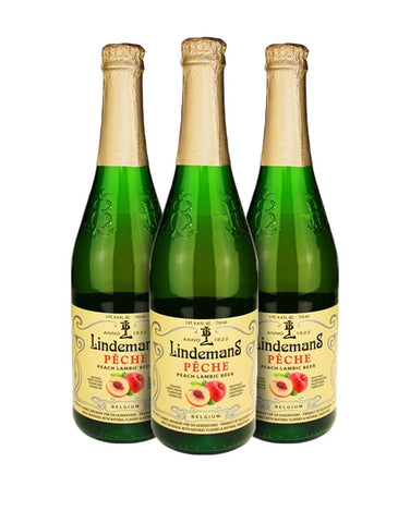 Lindemans Pêche (Set of 3)