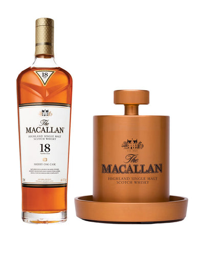 The Macallan Sherry Oak 18 Years Old with The Macallan Ice Ball Maker