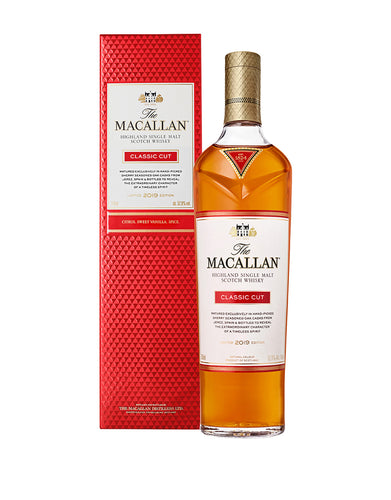 The Macallan® Classic Cut Single Malt Scotch Whisky bottle