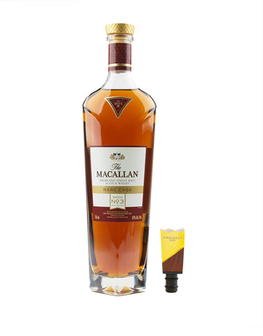 The Macallan 2019 Rare Cask with Fifth Annual Commemorative Limited Edition Bottle Stopper
