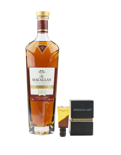 The Macallan 2019 Rare Cask with Fifth Annual Limited Edition Bottle Stopper
