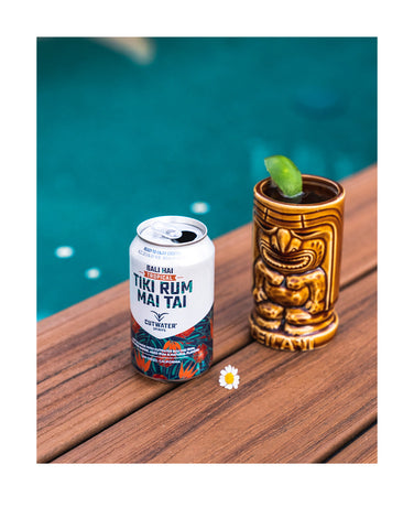 Load image into Gallery viewer, Cutwater Tiki Rum Mai Tai Can (12 pack)