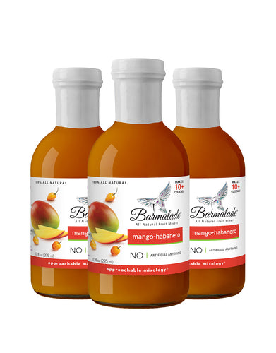Mango-Habanero Barmalade All Natural Fruit Mixer
