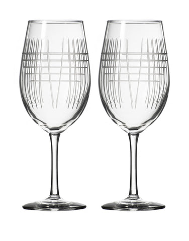 Rolf Glass Matchstick All Purpose Wine (Set of 2)