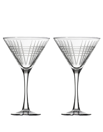 Rolf Glass Matchstick Martini (Set of 2)