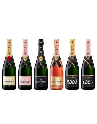Moët & Chandon Grand Vintage Collection (6 bottles)