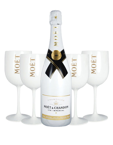 Moët Ice Impérial With 4 Moët Goblets