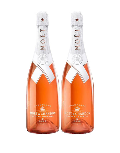 Moët & Chandon Nectar Impérial Rosé By Virgil Abloh (2 Bottles)